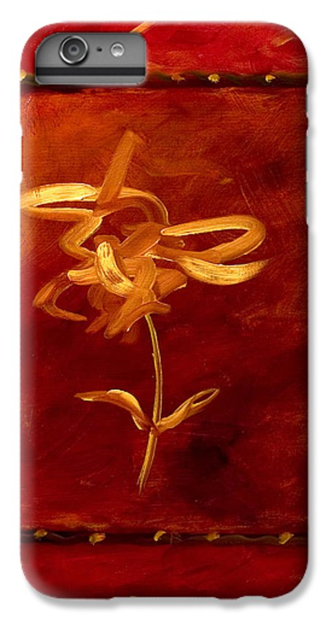 Abstract IPhone 7 Plus Case featuring the painting Confidence by Shannon Grissom