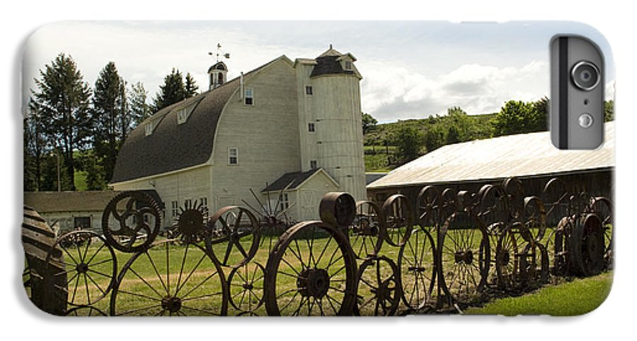 Historic Barn IPhone 7 Plus Case featuring the photograph Dahmen Barn by Louise Magno