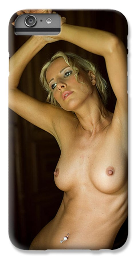 Sensual IPhone 7 Plus Case featuring the photograph Dasha by Olivier De Rycke