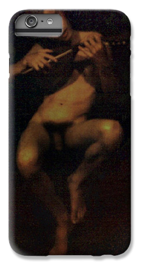 Male IPhone 7 Plus Case featuring the painting David.06 by Terrell Gates