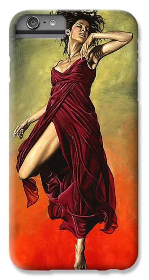 Dance IPhone 7 Plus Case featuring the painting Destiny's Dance by Richard Young