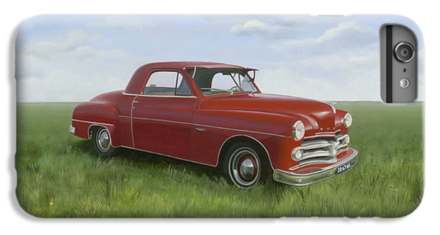 Classic IPhone 7 Plus Case featuring the painting Dodge by Patricia Van Lubeck