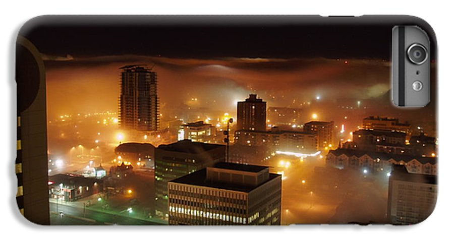 Photograph Calgary IPhone 7 Plus Case featuring the photograph Downdown Calgary by Seon-Jeong Kim