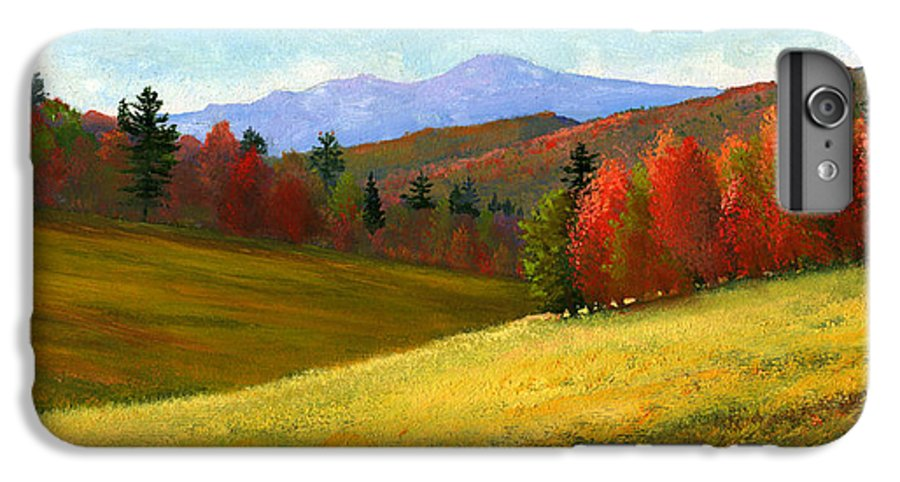 Landscape IPhone 7 Plus Case featuring the painting Early October by Frank Wilson