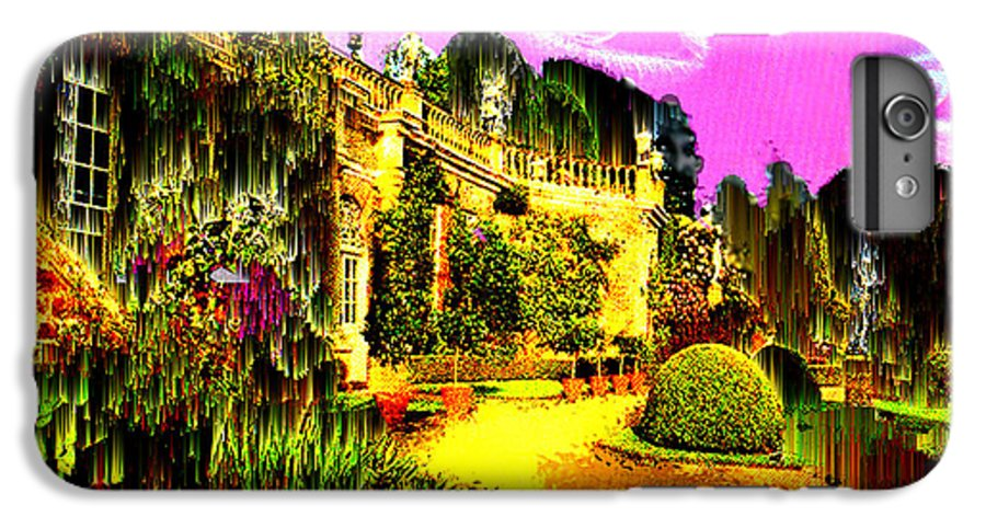 Mansion IPhone 7 Plus Case featuring the digital art Eerie Estate by Seth Weaver