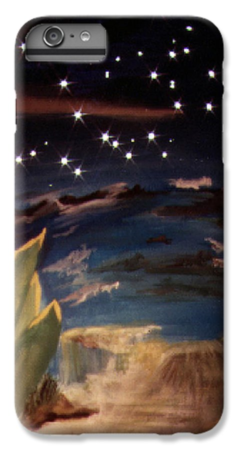 Surreal IPhone 7 Plus Case featuring the painting Enter My Dream by Steve Karol