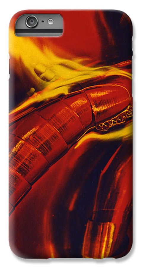 Abstract IPhone 7 Plus Case featuring the photograph Eritico by David Rivas