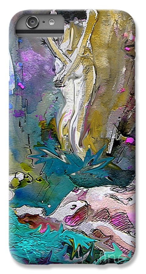 Miki IPhone 7 Plus Case featuring the painting Eroscape 1104 by Miki De Goodaboom