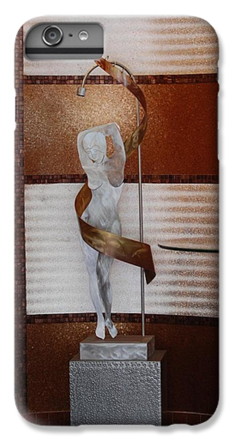 Statue IPhone 7 Plus Case featuring the photograph Erotic Museum Piece by Rob Hans