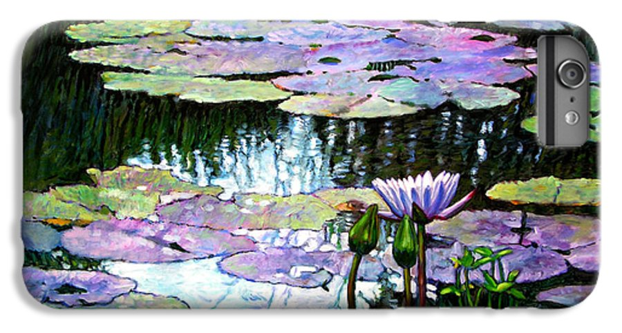 Landscape IPhone 7 Plus Case featuring the painting Expressions Of Love And Peace by John Lautermilch