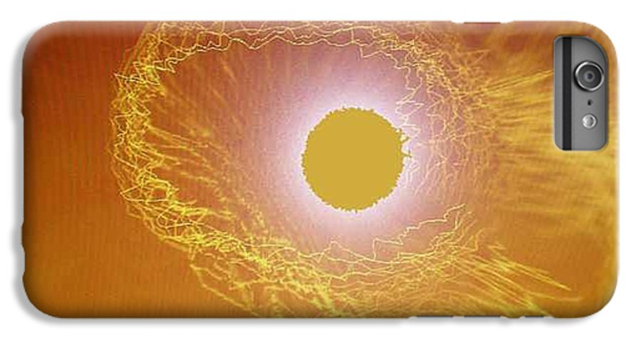 The Powerful Gaze Of The Almighty. Destroying Evil With His Almighty Sight. IPhone 7 Plus Case featuring the digital art Eye Of God by Seth Weaver