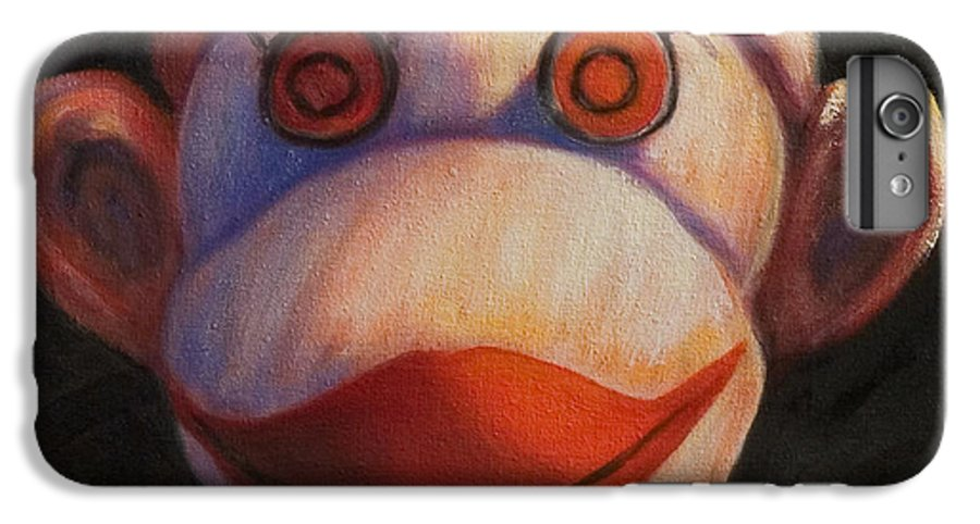 Children IPhone 7 Plus Case featuring the painting Face by Shannon Grissom