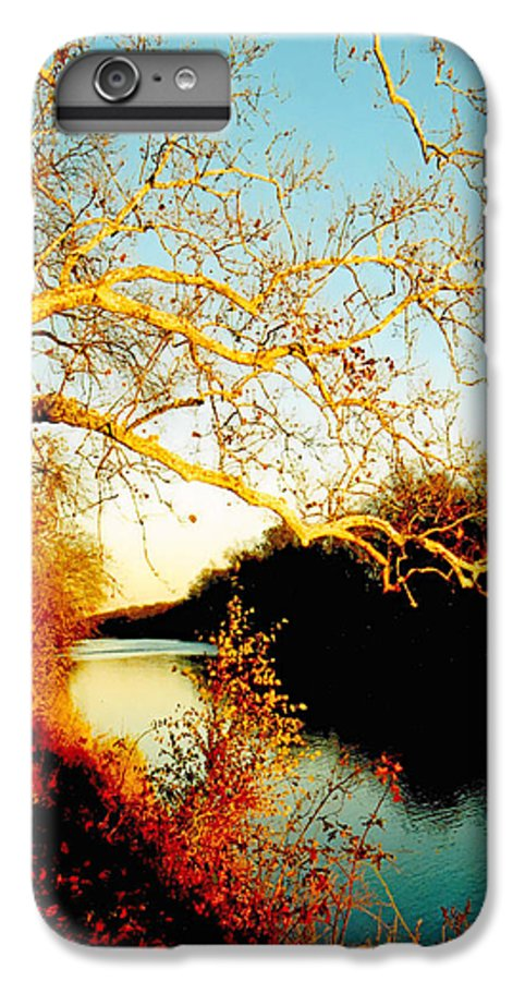 River IPhone 7 Plus Case featuring the photograph Fall At The Raritan River In New Jersey by Christine Till