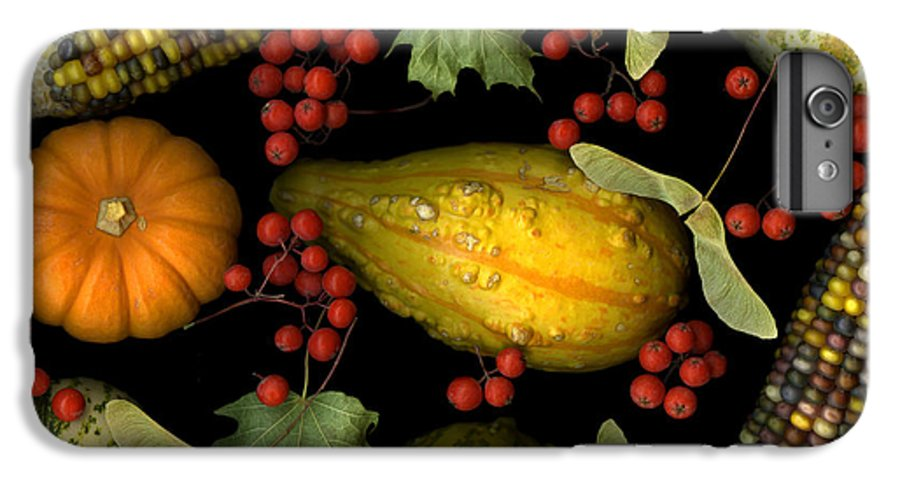 Slanec IPhone 7 Plus Case featuring the photograph Fall Harvest by Christian Slanec