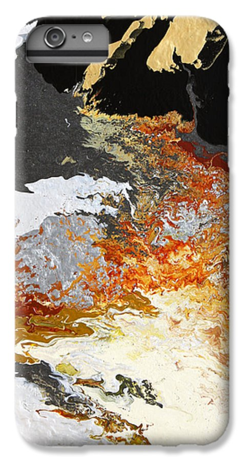 Fusionart IPhone 7 Plus Case featuring the painting Fathom by Ralph White
