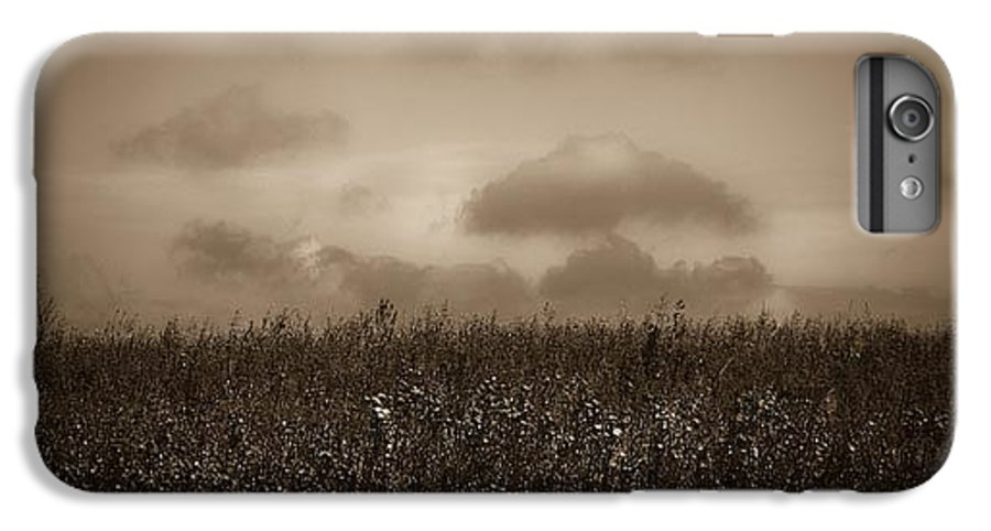 Poland IPhone 7 Plus Case featuring the photograph Field In Sepia Northern Poland by Michael Ziegler