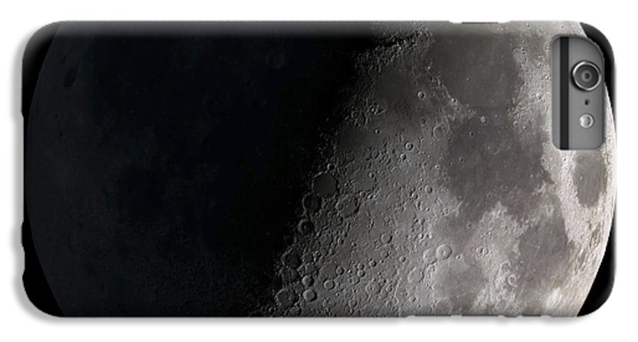 Mare Serenitatis IPhone 7 Plus Case featuring the photograph First Quarter Moon by Stocktrek Images
