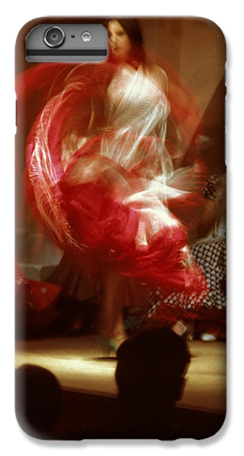 Spain IPhone 7 Plus Case featuring the photograph Flamenco Dancer In Seville by Carl Purcell