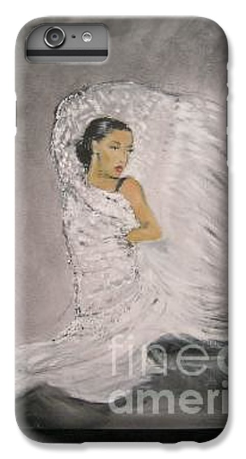 Spain IPhone 7 Plus Case featuring the painting Flamenco by Lizzy Forrester