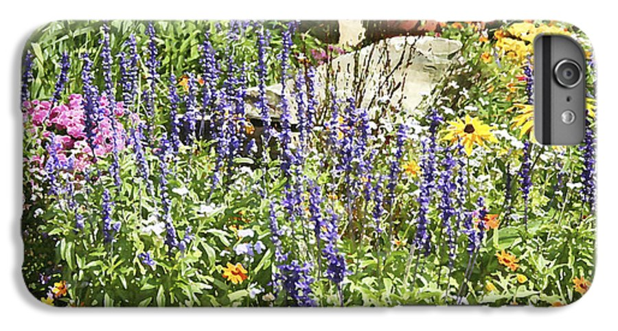 Flower IPhone 7 Plus Case featuring the photograph Flower Garden by Margie Wildblood