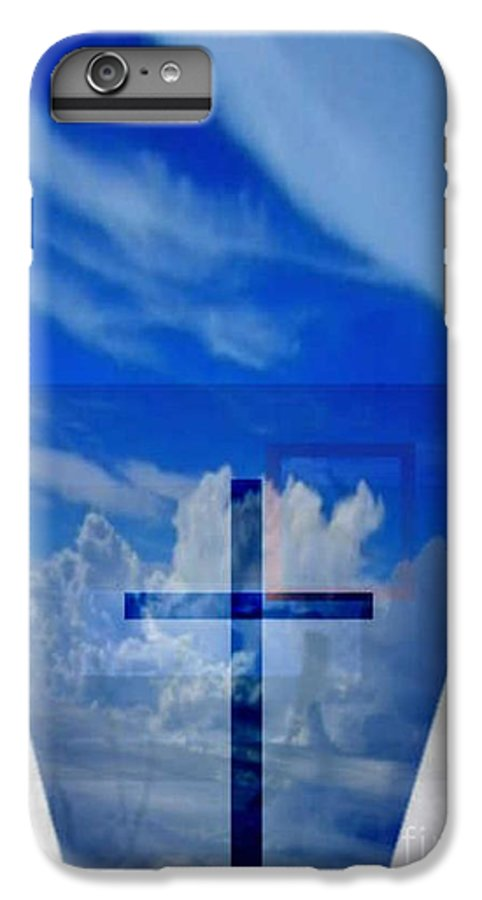 Inspirational IPhone 7 Plus Case featuring the digital art Forever Settled by Brenda L Spencer