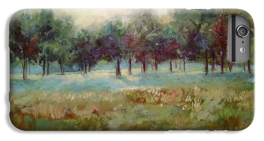 Country Scenes IPhone 7 Plus Case featuring the painting From The Other Side by Ginger Concepcion