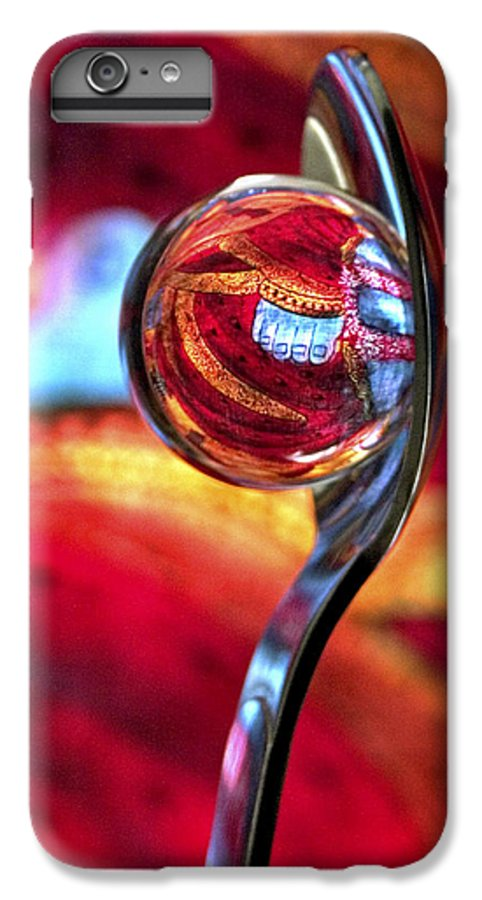 Ball IPhone 7 Plus Case featuring the photograph Ganesh Spoon by Skip Hunt