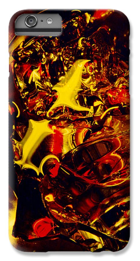 Abstract IPhone 7 Plus Case featuring the photograph Glassman by David Rivas
