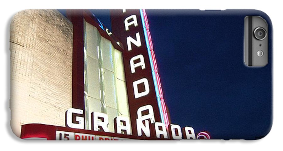 Music IPhone 7 Plus Case featuring the photograph Granada Theater by Debbi Granruth
