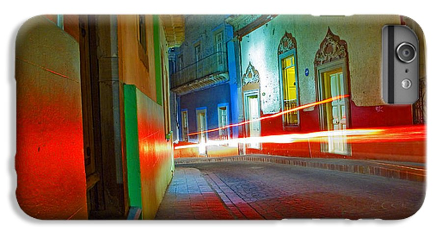 Shadow IPhone 7 Plus Case featuring the photograph Guanajuato Night by Skip Hunt