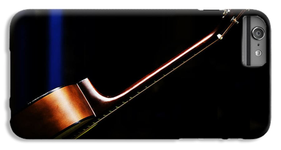 Guitar IPhone 7 Plus Case featuring the photograph Guitar by Sheila Smart Fine Art Photography