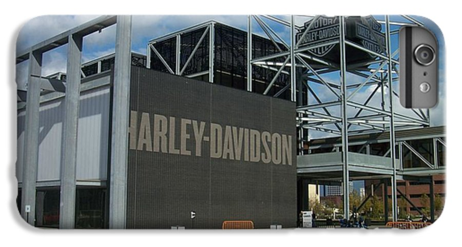 IPhone 7 Plus Case featuring the photograph Harley Museum by Anita Burgermeister