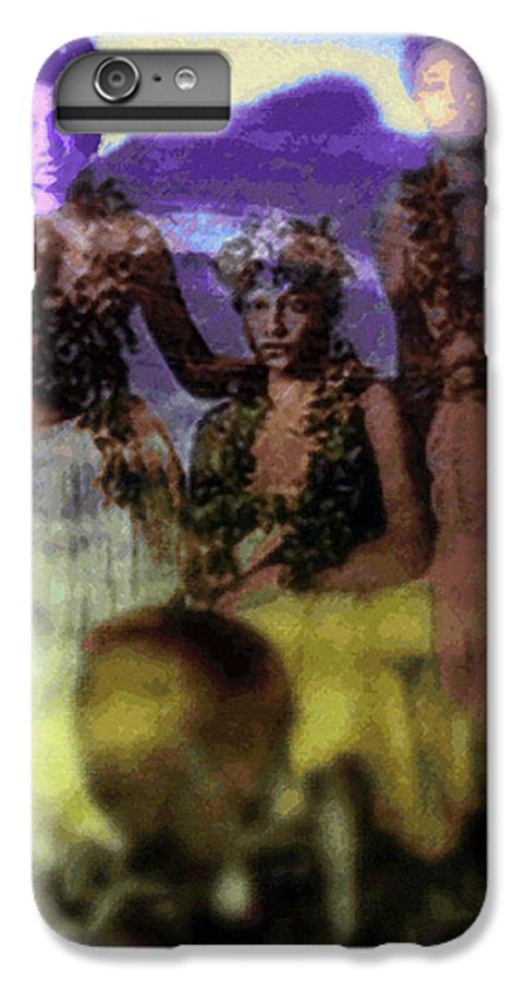 Tropical Interior Design IPhone 7 Plus Case featuring the photograph He Hohona Aeoia by Kenneth Grzesik