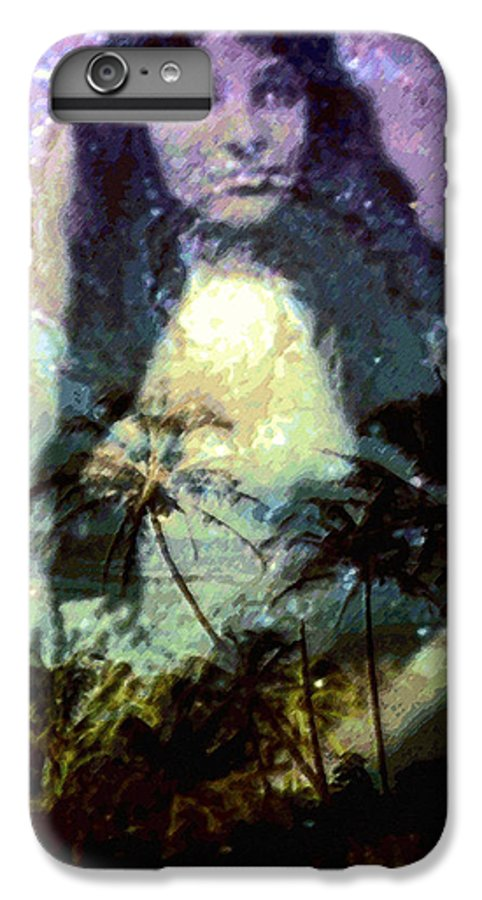 Tropical Interior Design IPhone 7 Plus Case featuring the photograph Ho Omana O by Kenneth Grzesik