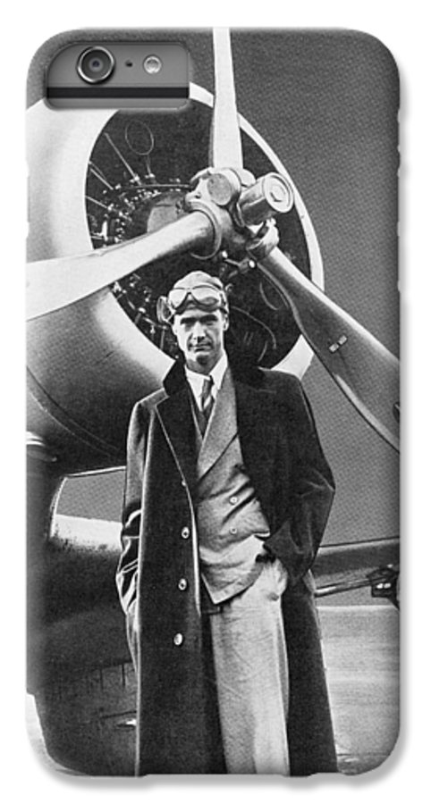 Howard Hughes IPhone 7 Plus Case featuring the photograph Howard Hughes, Us Aviation Pioneer by Science, Industry & Business Librarynew York Public Library