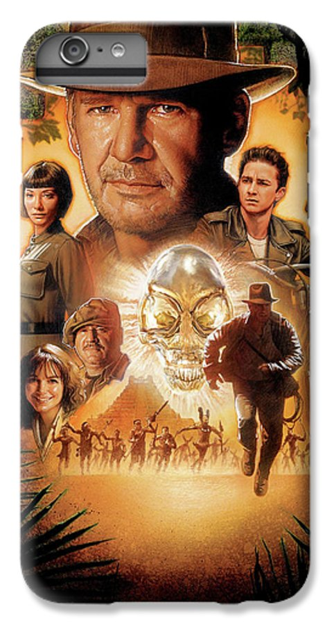 Indiana Jones And The Kingdom Of The Crystal Skull 2008 Iphone 7 Plus Case For Sale By Geek N Rock
