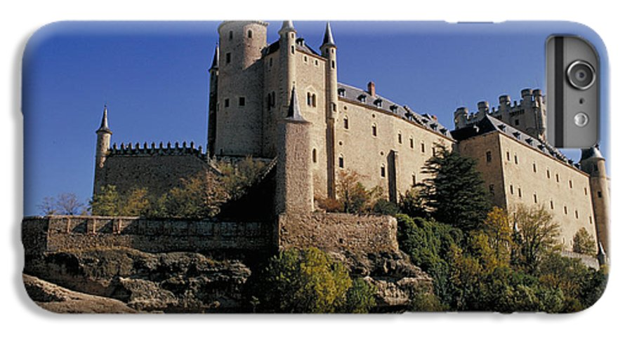 Royal IPhone 7 Plus Case featuring the photograph Isabella's Castle In Segovia by Carl Purcell