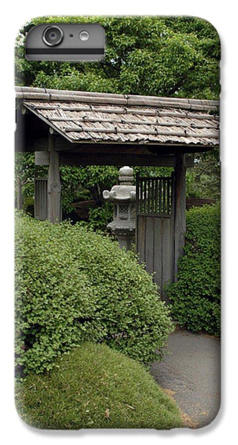 Japanese Garden IPhone 7 Plus Case featuring the photograph Japanese Garden by Kathy Schumann