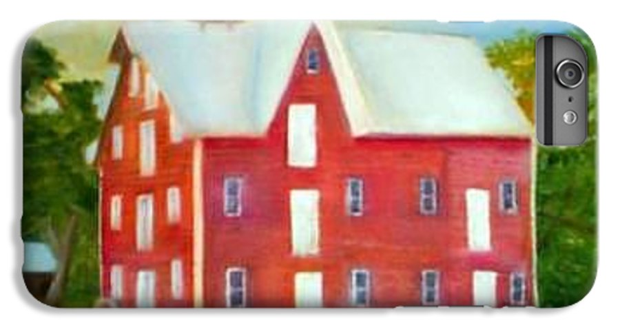 Kirby Mill IPhone 7 Plus Case featuring the painting Kirby's Mil by Sheila Mashaw