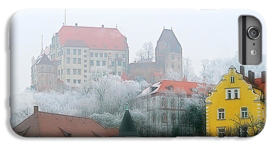 City IPhone 7 Plus Case featuring the photograph Landshut Bavaria On A Foggy Day by Christine Till