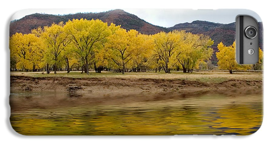 River IPhone 7 Plus Case featuring the photograph Las Animas Fall by Jerry McElroy