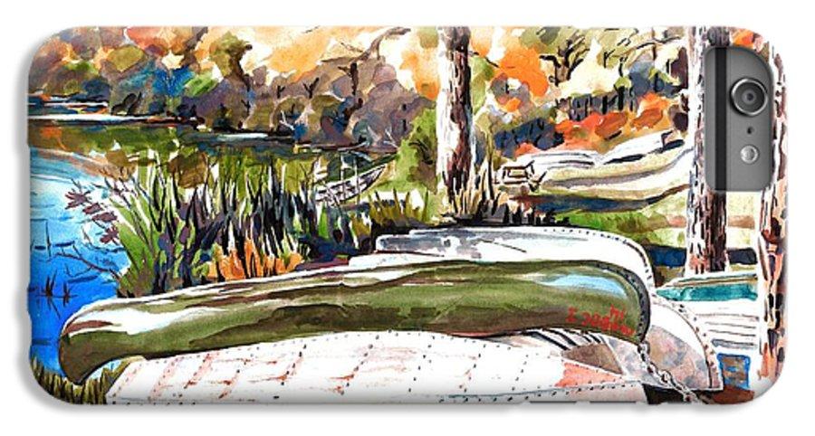 Last Summer In Brigadoon IPhone 7 Plus Case featuring the painting Last Summer In Brigadoon by Kip DeVore