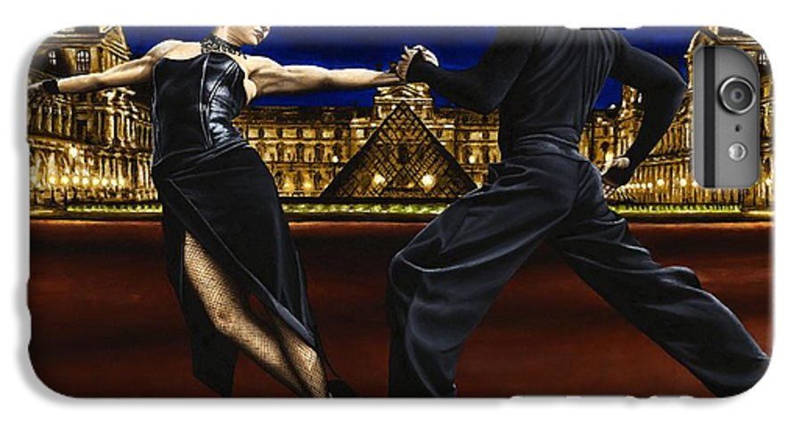Tango IPhone 7 Plus Case featuring the painting Last Tango In Paris by Richard Young