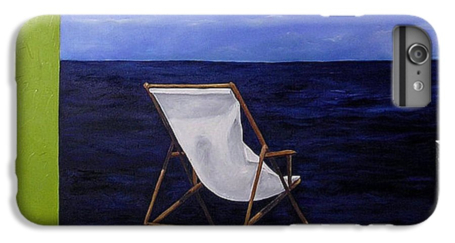 Seascape IPhone 7 Plus Case featuring the painting Lazy Days by Trisha Lambi