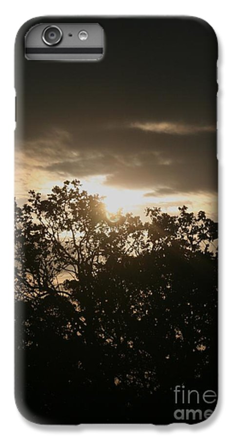 Light IPhone 7 Plus Case featuring the photograph Light Chasing Away The Darkness by Nadine Rippelmeyer