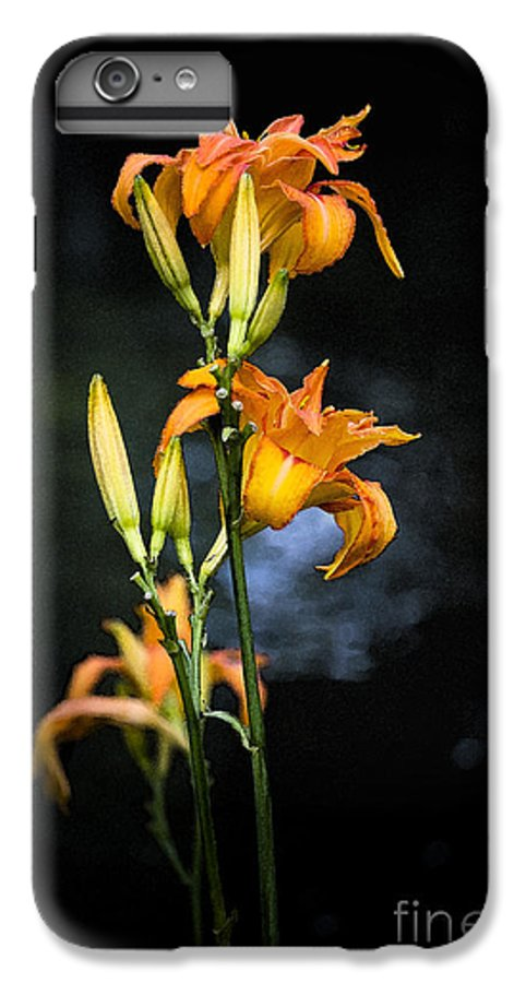 Lily Monet Garden Flora IPhone 7 Plus Case featuring the photograph Lily In Monets Garden by Avalon Fine Art Photography