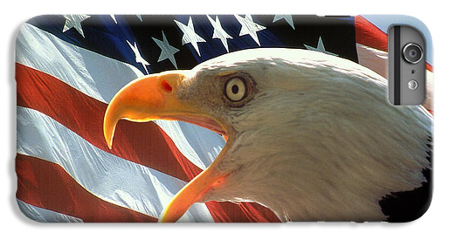 Eagle IPhone 7 Plus Case featuring the photograph Live Free Or Die by Carl Purcell