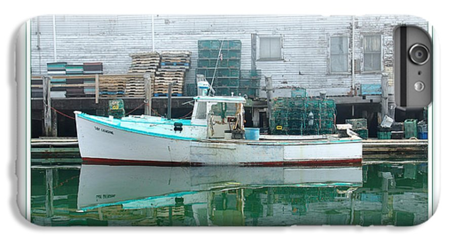 Landscape IPhone 7 Plus Case featuring the photograph Lobster Boat by Peter Muzyka
