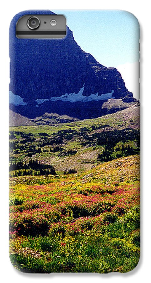 Glacier National Park IPhone 7 Plus Case featuring the photograph Logans Pass In Glacier National Park by Nancy Mueller