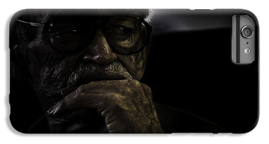 Portrait IPhone 7 Plus Case featuring the photograph Man On Ferry by Sheila Smart Fine Art Photography
